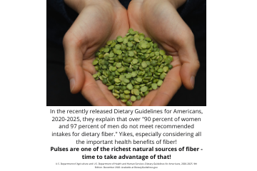 Legume science post #4 - What Do the New Dietary Guidelines Say About Fiber?
