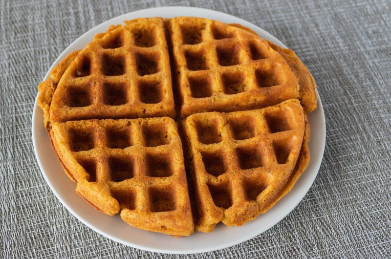 Savory Chickpea Waffles