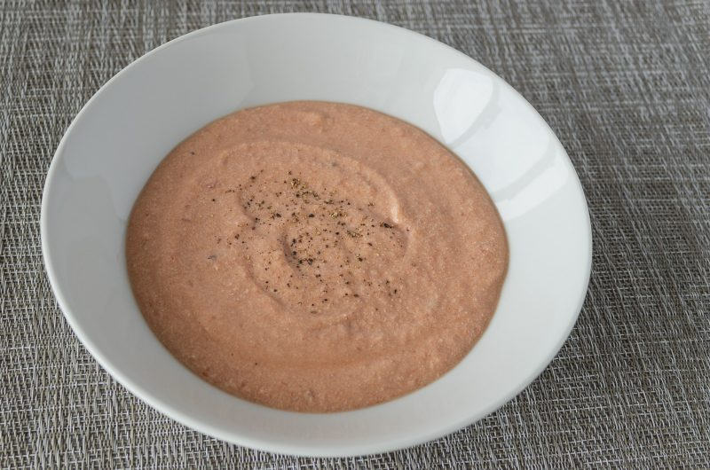 5-ish Minute Creamy Tomato Tofu Soup