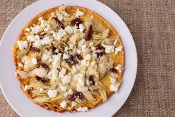 Chickpea Flatbread Pizza