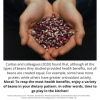 Legume Science Post #15 - May 4, 2021- Protein and Antioxidants in Beans