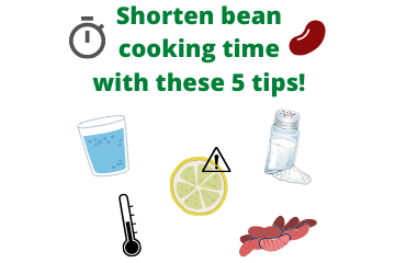 Shorten bean cooking time with these 5 tips!