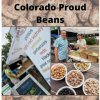 Colorado Proud beans at the farmers' market - July 2021