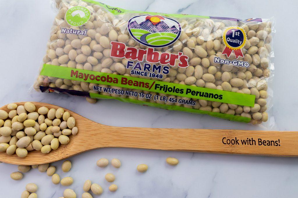 Colorado Proud beans - Mayocoba (yellow) beans