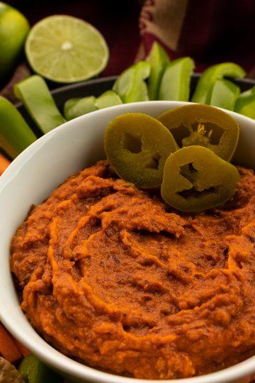 Zesty Pumpkin Bean Dip