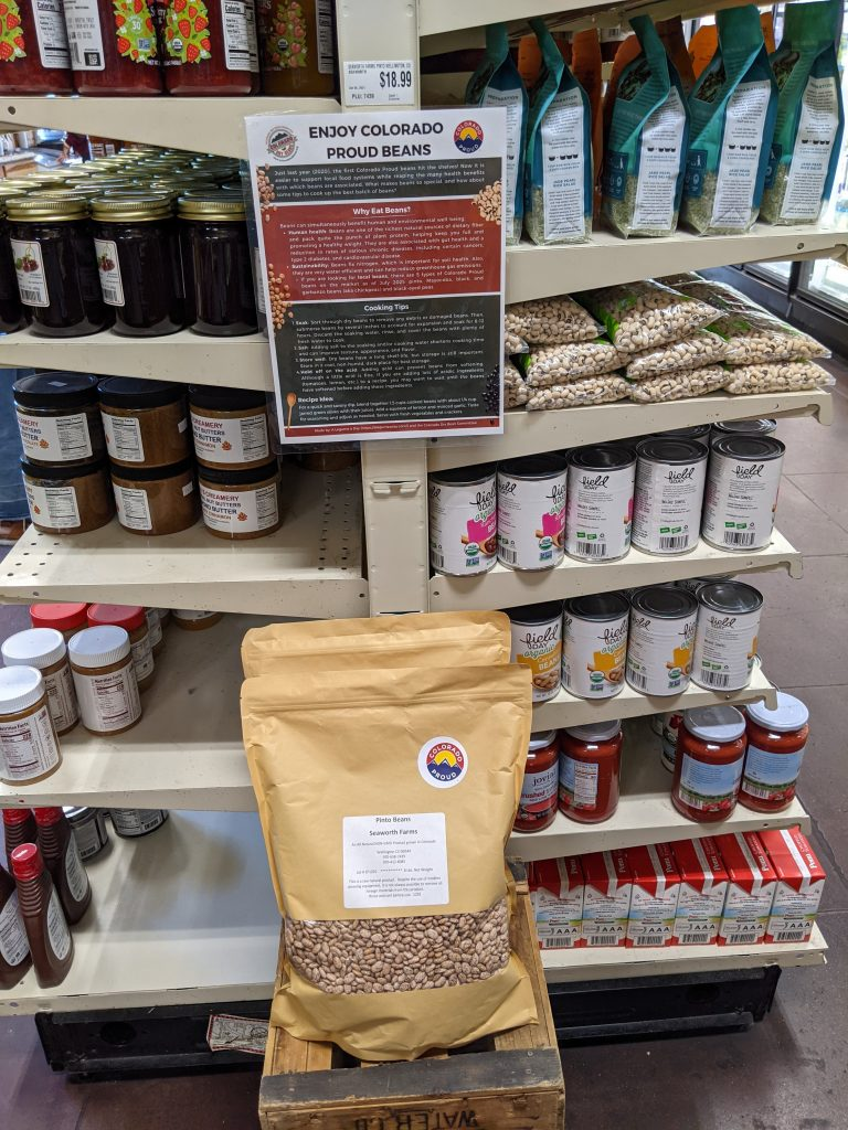 Seaworth Farms Beans at Fort Collins Food Co-op